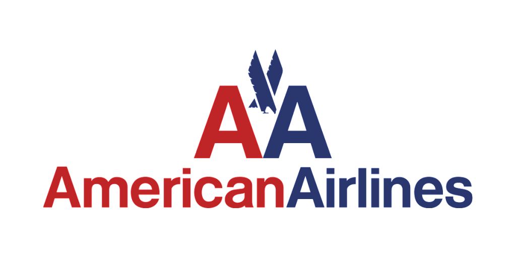 American Airlines logo before
