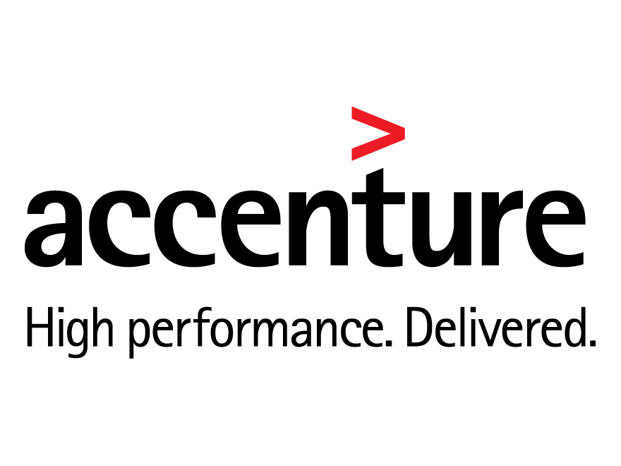 Accenture red arrow logo