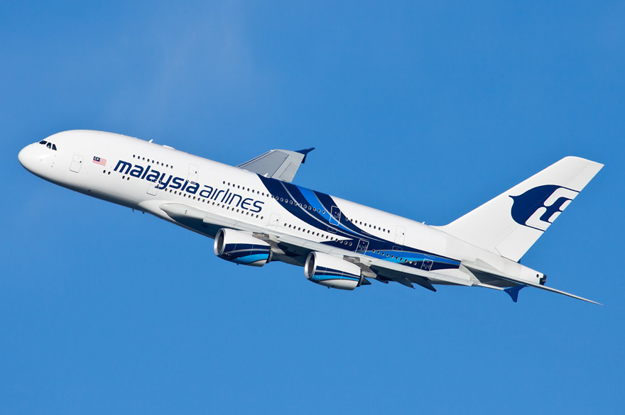 Malaysia Airlines Airbus A380 logo