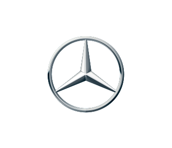 Mercedes-Benz three-pointed star logo