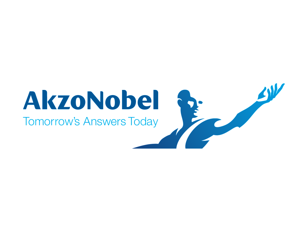 AkzoNobel logo and slogan