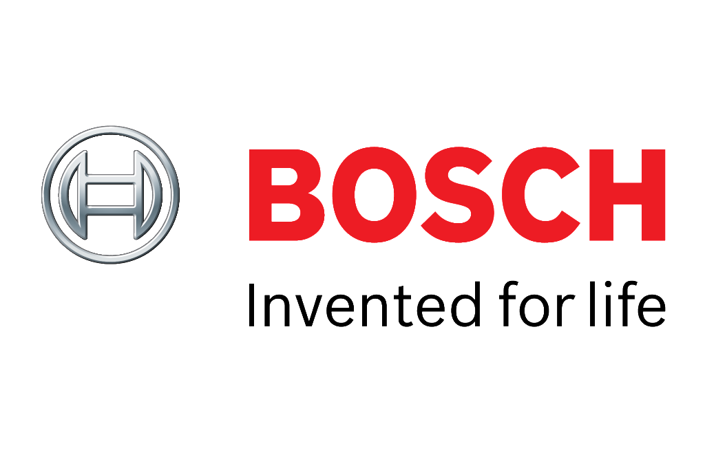 Bosch logo and slogan