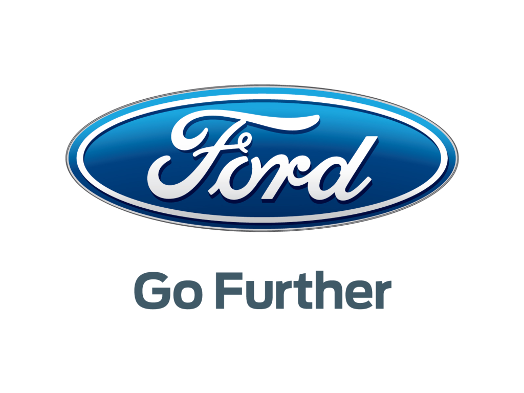 Ford logo and slogan