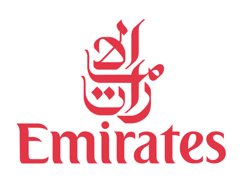 Emirates logo and Wordmark