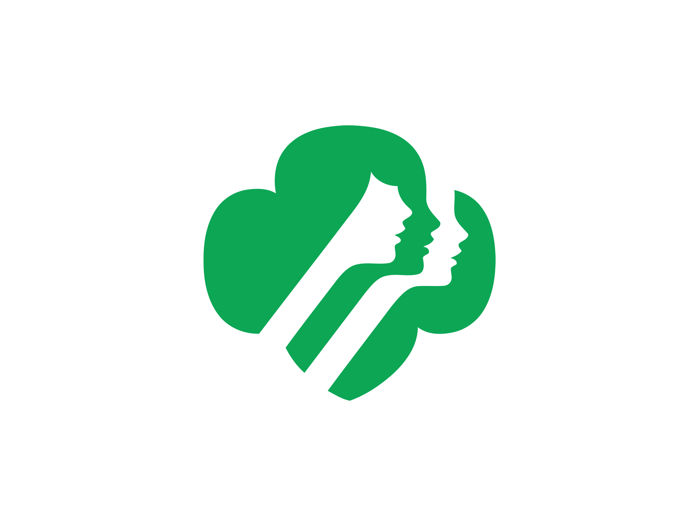 girl scouts of the usa logo logok