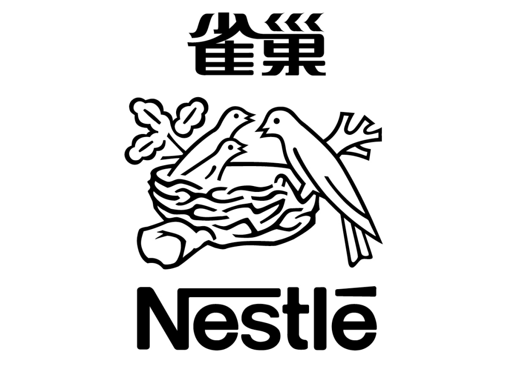 Nestle logo Chinese