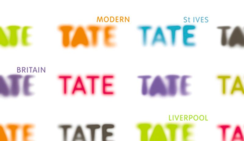 Tate logo colorful