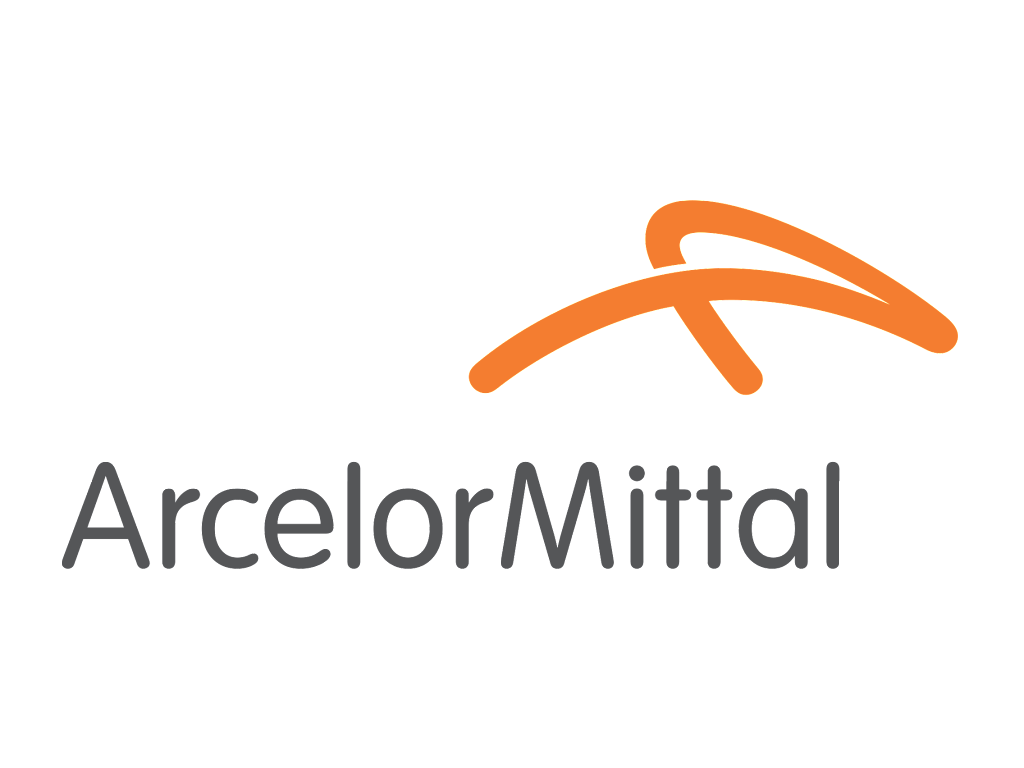 ArcelorMittal logo and wordmark