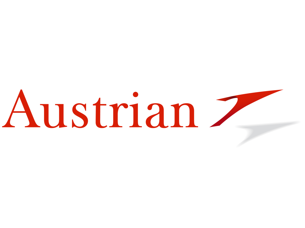 Austrian Airlines logo and wordmark