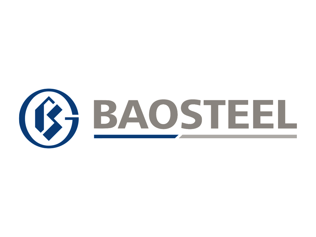 Baosteel logo and wordmark