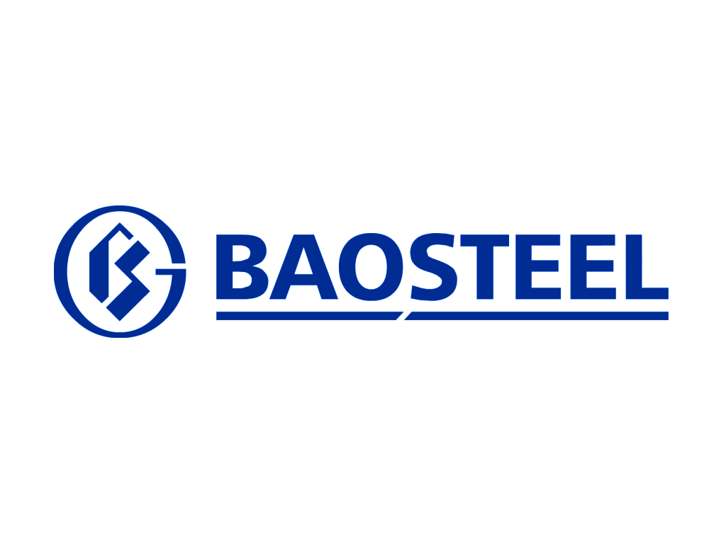 Baosteel logo blue