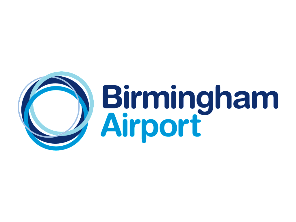 Birmingham Airport Logo and wordmark