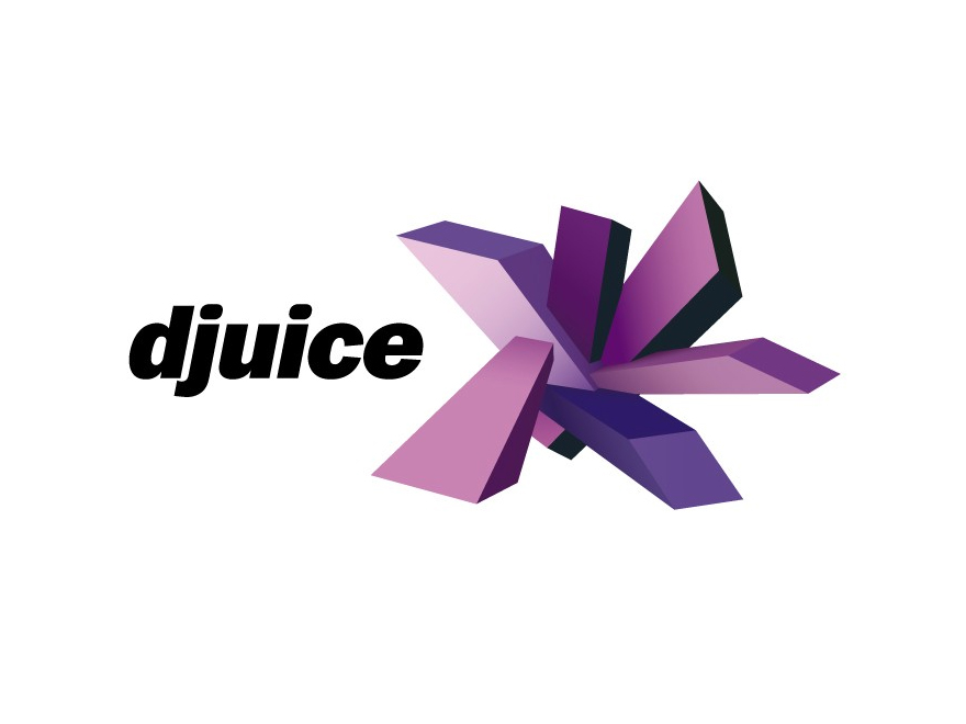 Djuice logo purple