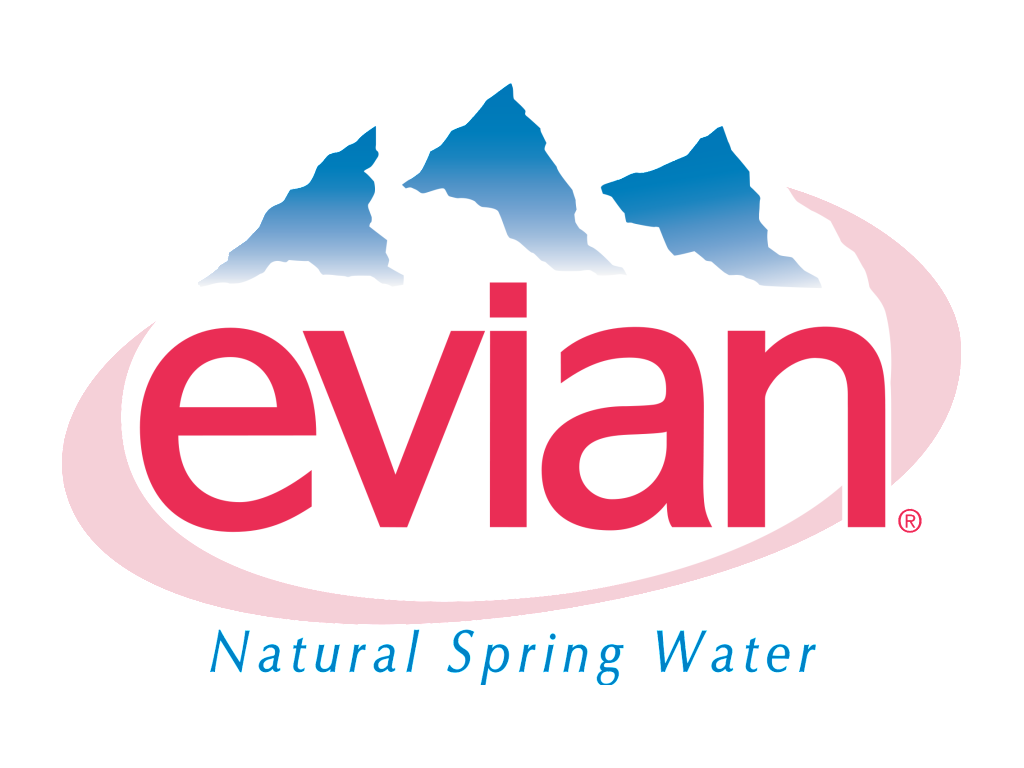 Evian logo old