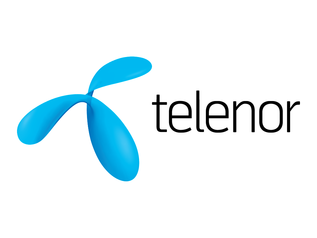 Telenor_logo and wordmark