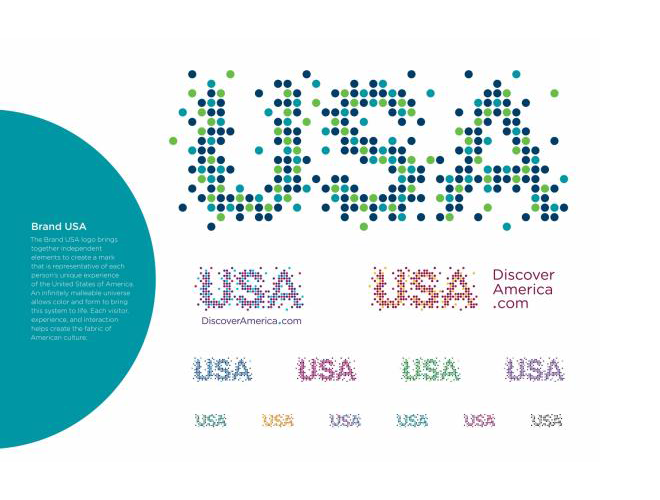 Brand USA logo colors