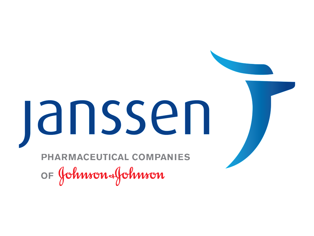 Janssen logo and jandj logo