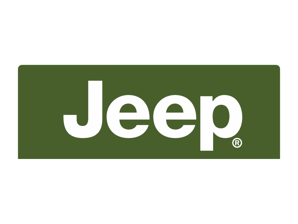 Jeep logo white