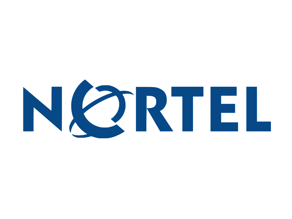Nortel logo blue