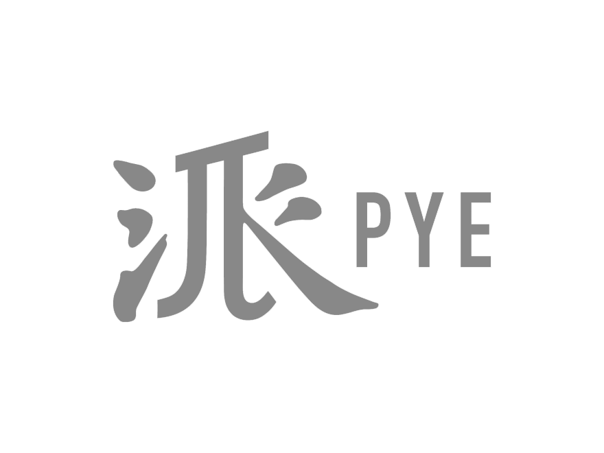 PYE-logo wordmark