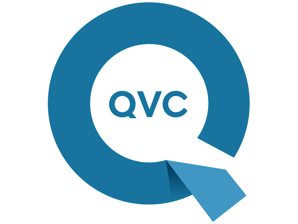 QVC logo wordmark