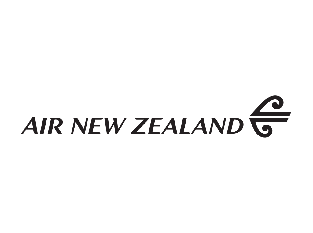 Air New Zealand logo wordmark