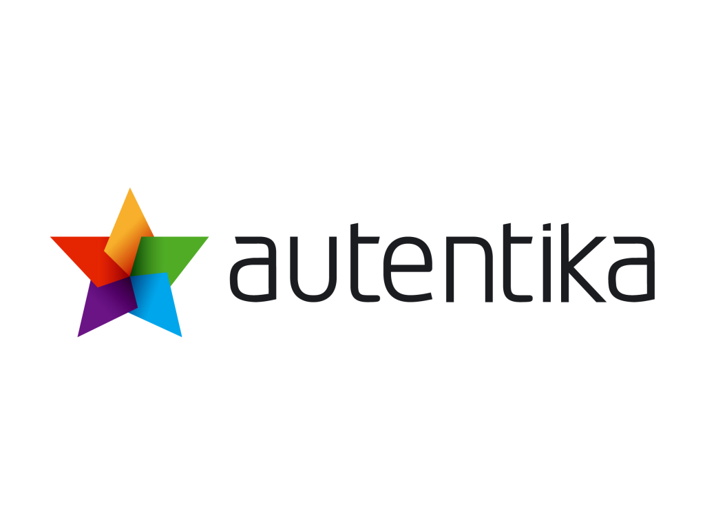 Autentika logo wordmark