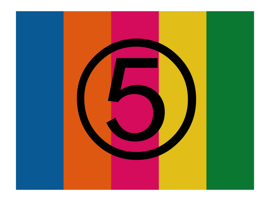 Channel 5 logo original 1997