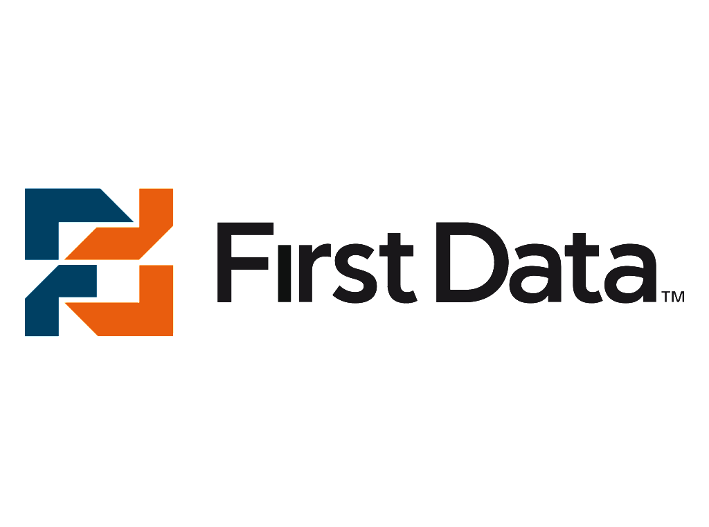 First Data logo wordmark
