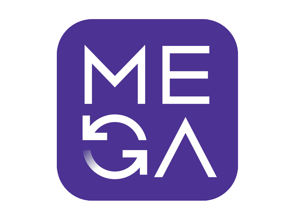 The current official Mega logo