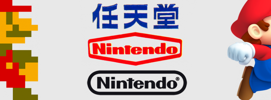 Nintendo logo evolution