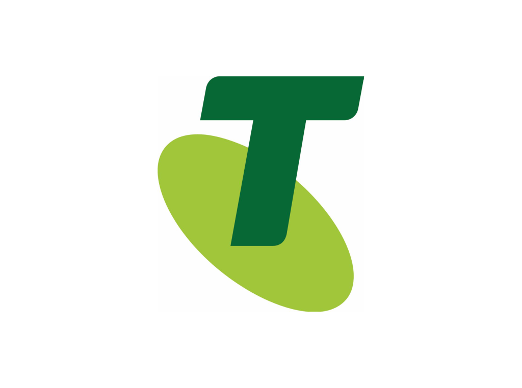 Telstra logo 2011 green