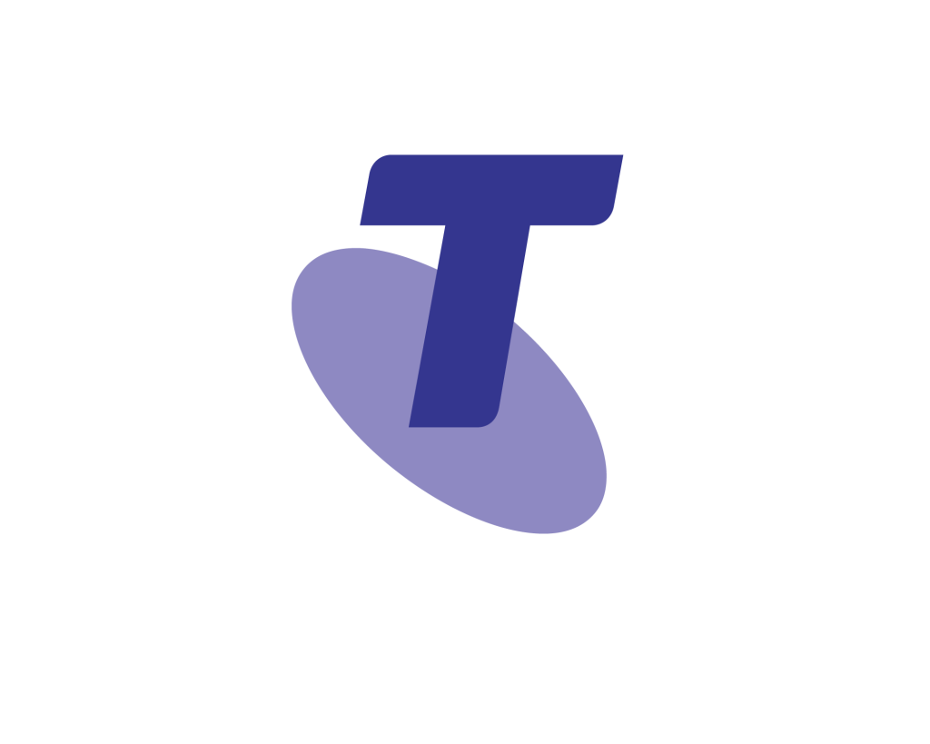 Telstra logo 2011 purple