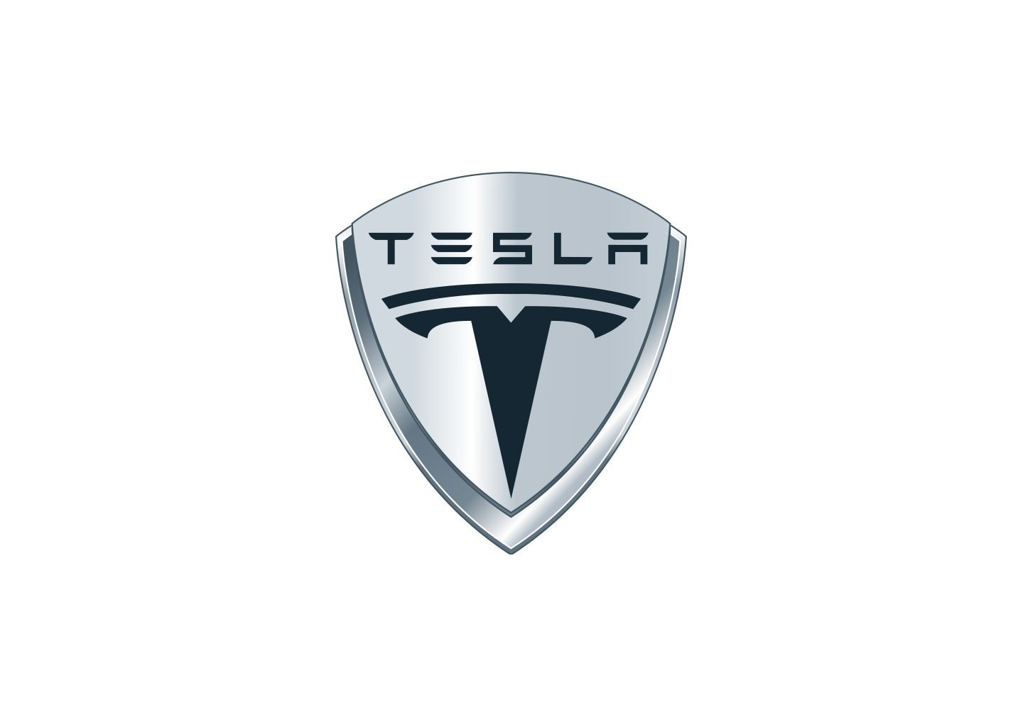 Tesla Logo on how an electric motor works