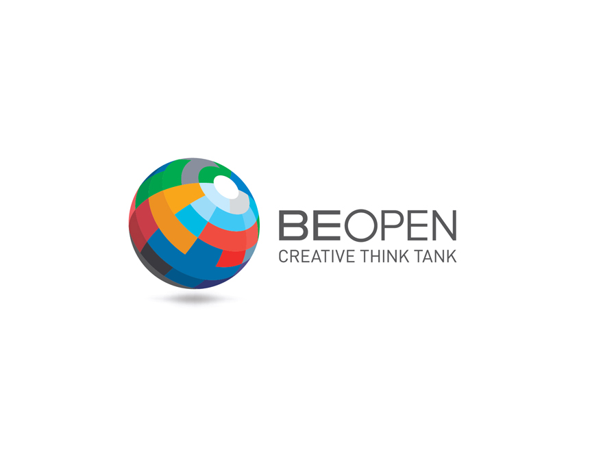 BeOpen Logo colorful