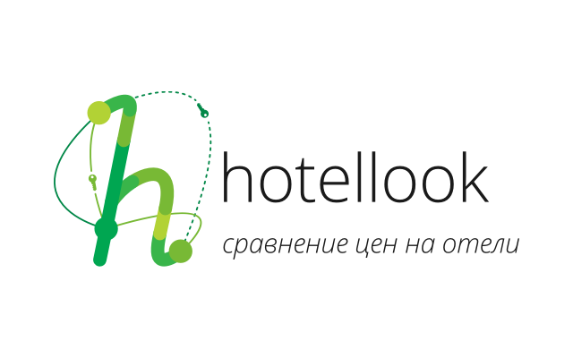 Hotellook logo wordmark