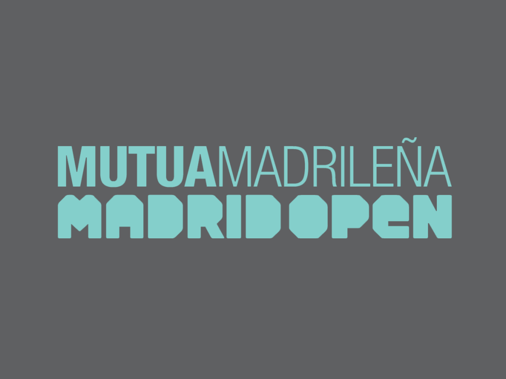 Madrid Open logo Mutua