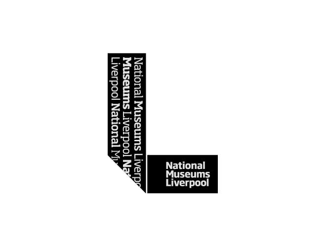 National Museums Liverpool logo black
