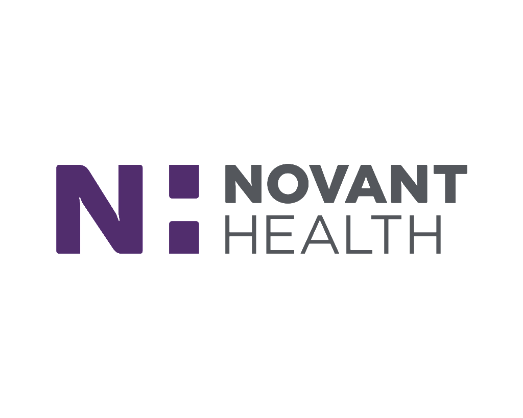 Novant Health logo wordmark