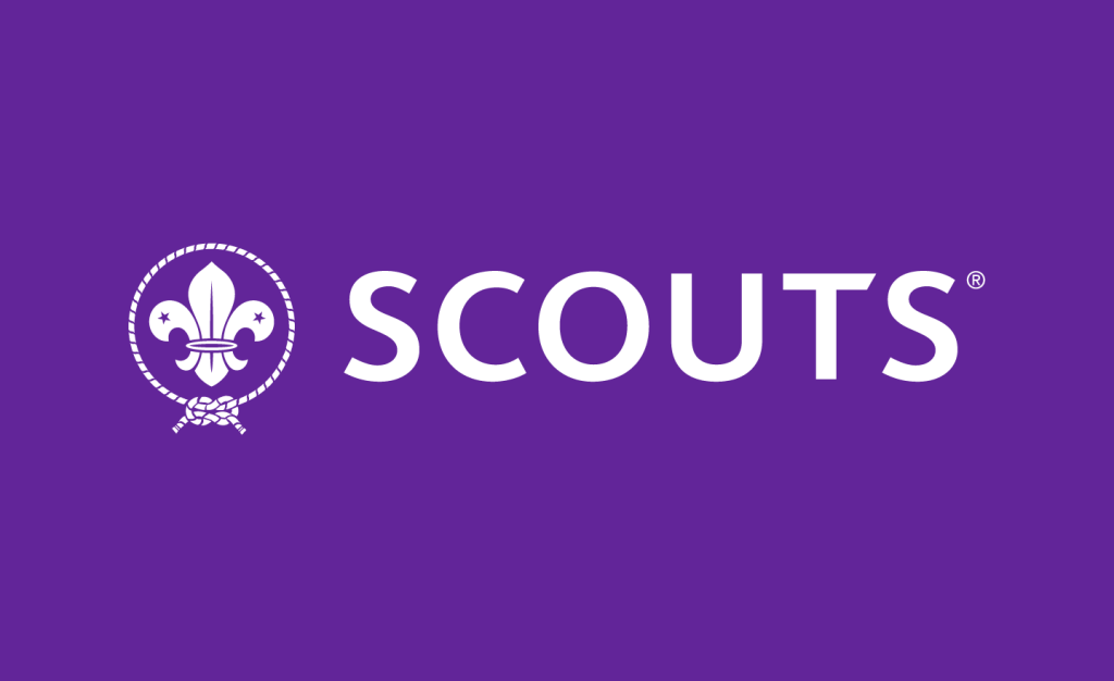 World Organization of the Scout Movement logo white