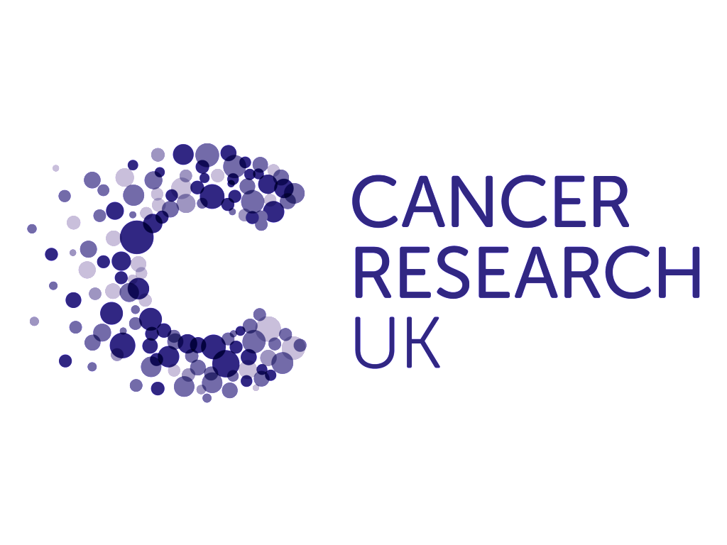Cancer Research UK logo purple