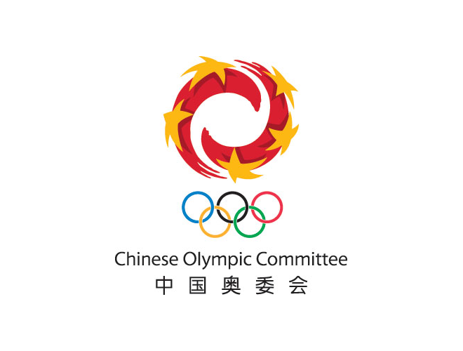 Chinese Olympic Committee Commercial logo