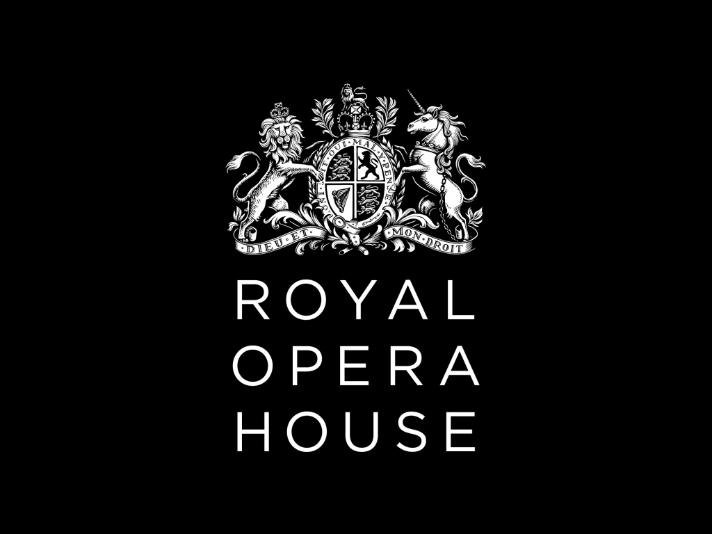 Royal Opera House logo white