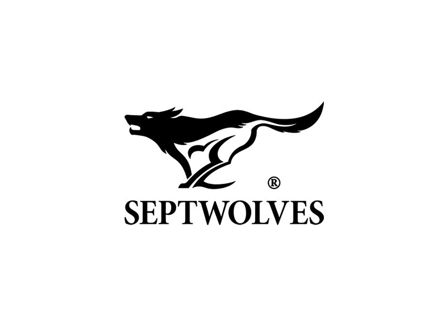 Septwolves logo logotype