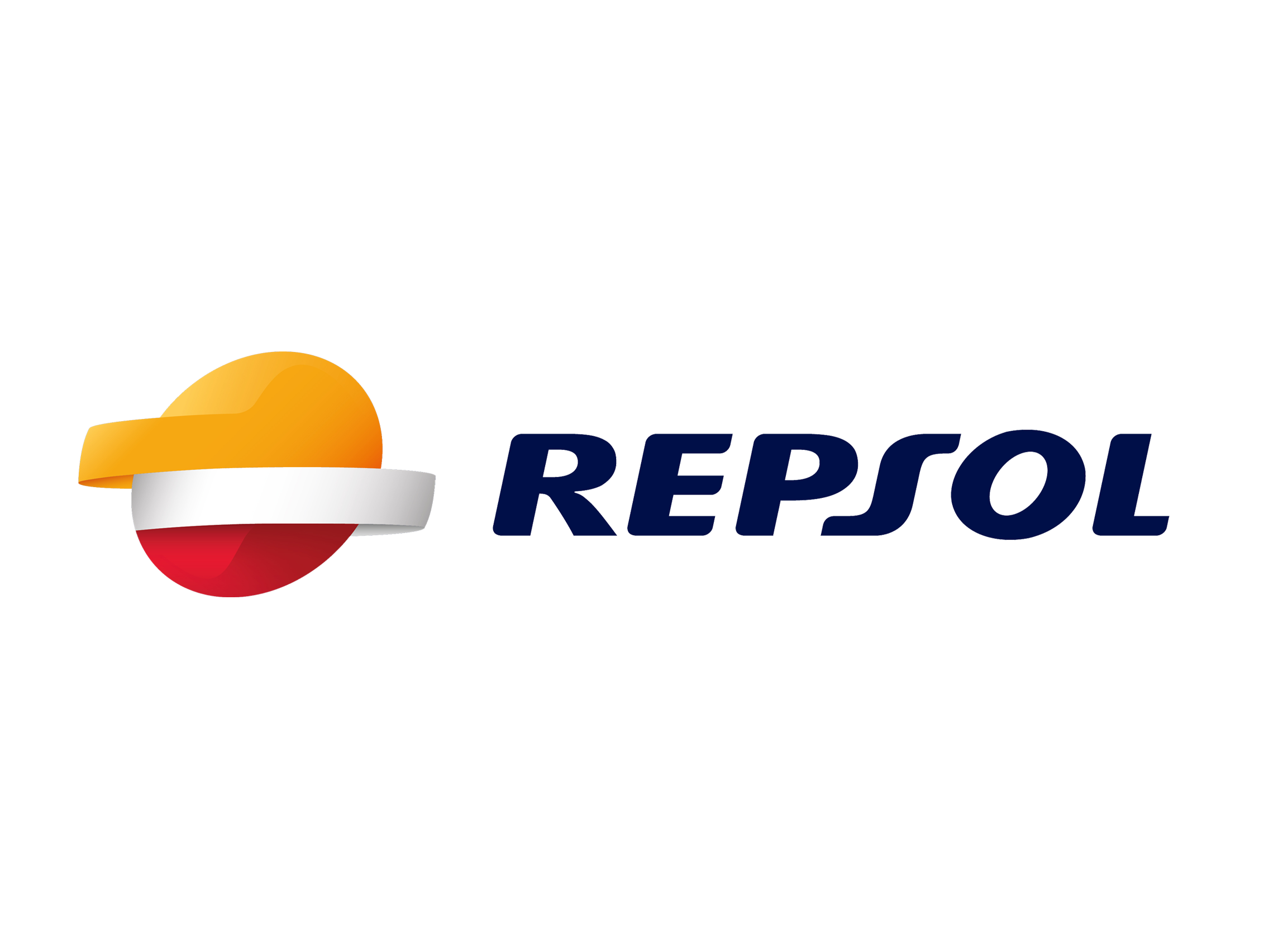 Repsol Logo Logotype on food of the 1950s