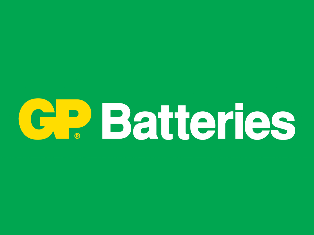 GP Batteries logo logotype