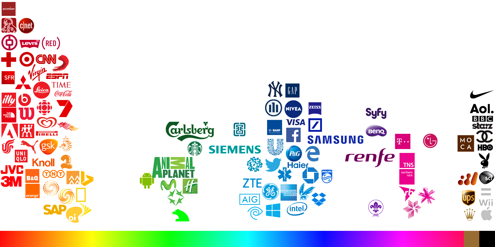 Logo Colors Map