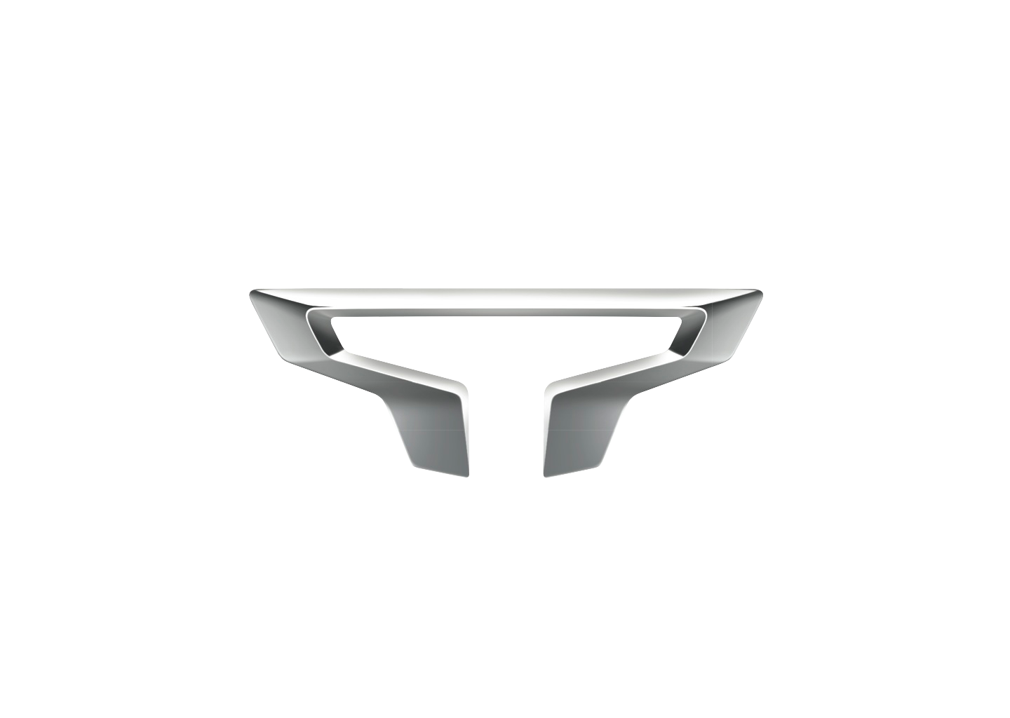 Titan Logo on white mercedes benz symbol