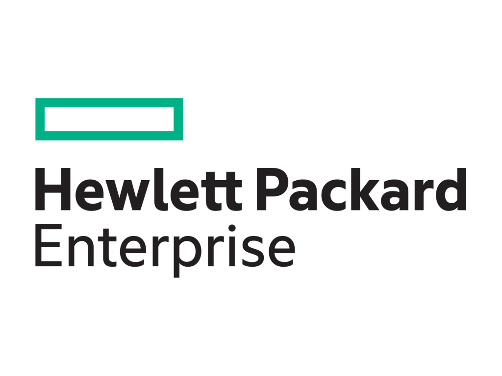 Hewlett Packard Enterprise logo logotype